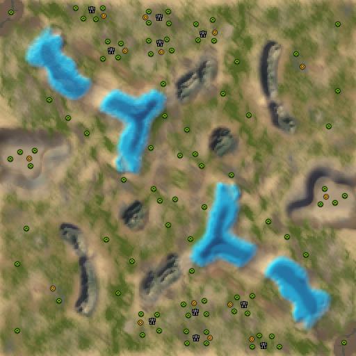 Карта adaptive apollons river