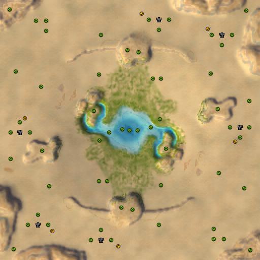 Карта adaptive desert challenge