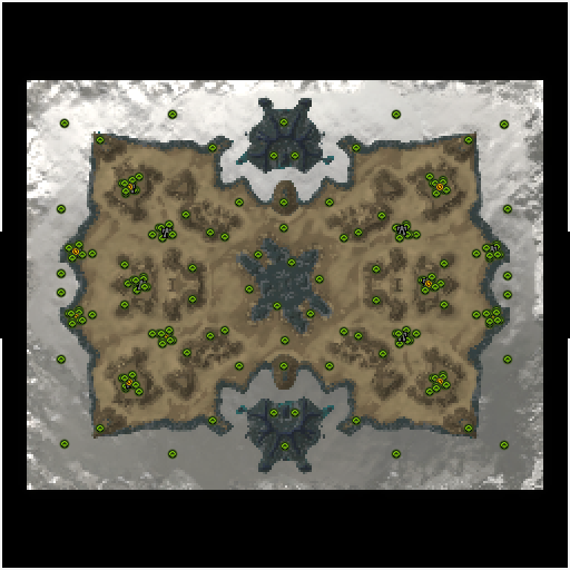 Карта adaptive pandemonium 18km x 14km