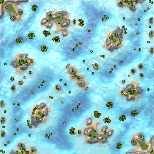 Карта adaptive sr islands