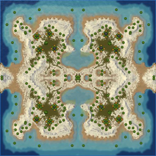 Карта adaptive total open war