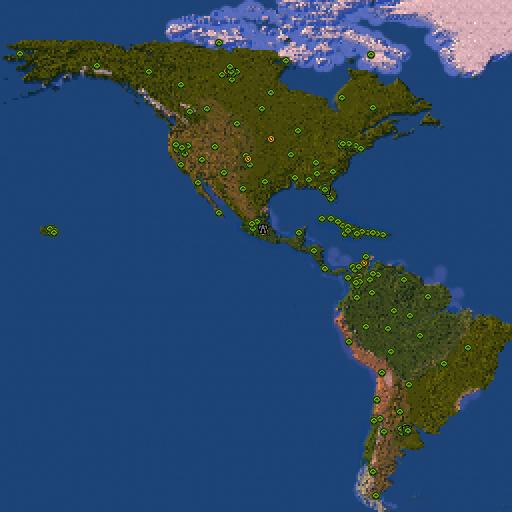 Карта america