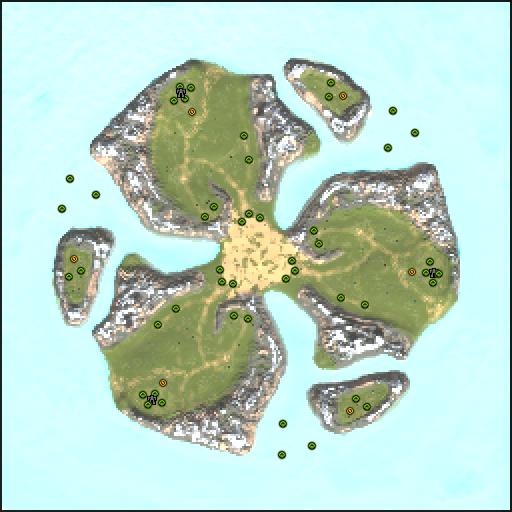Карта archipelago clover