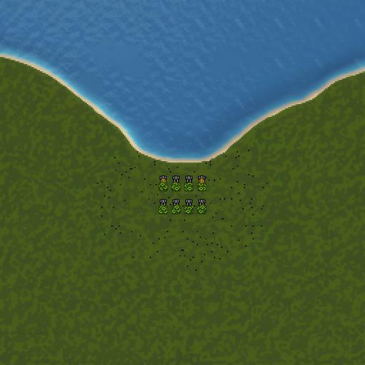 Карта beach survival ee