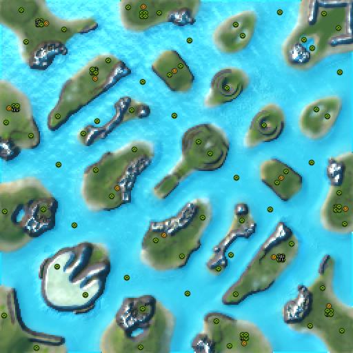 Карта big islands
