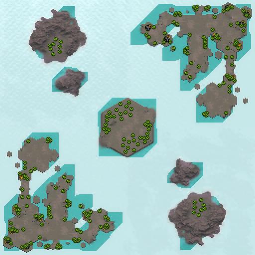 Карта border retaliation