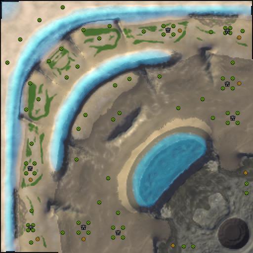 Карта calamity cascade
