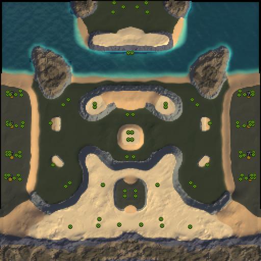 Карта central arena
