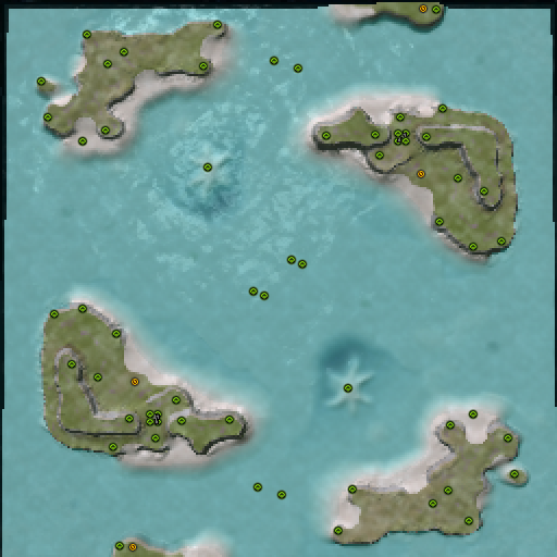 Карта crashing waves