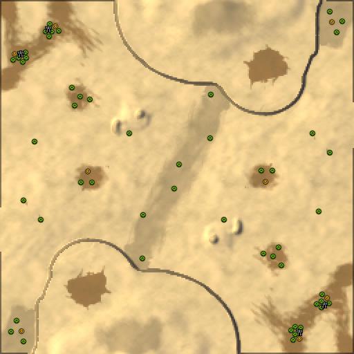 Карта cybran valley