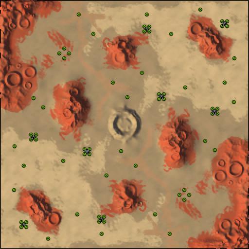 Карта desert castaway