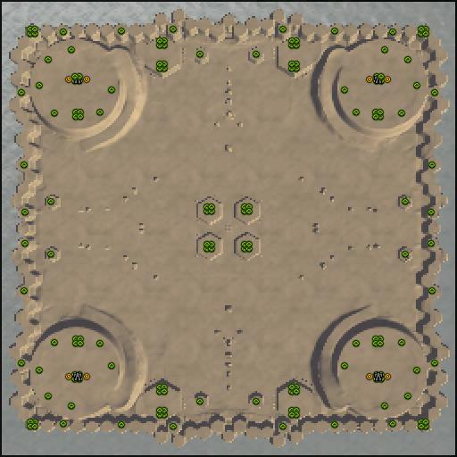 Карта desert pillars