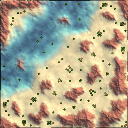 Карта desert strike