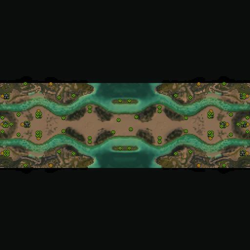 Карта desert trail