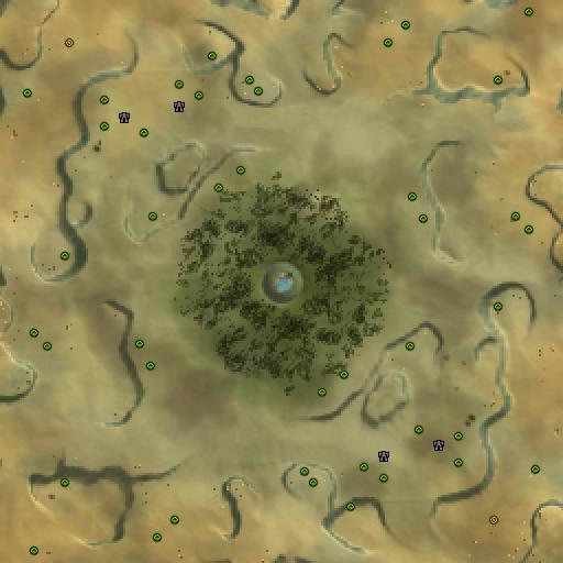 Карта desified