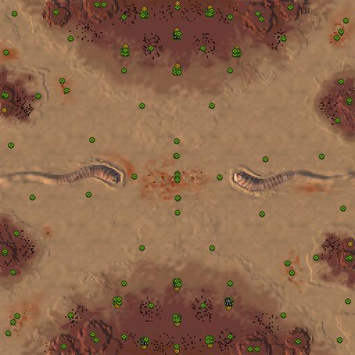 Карта dune arrakis