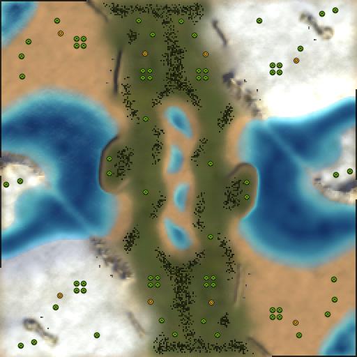 Карта forged world