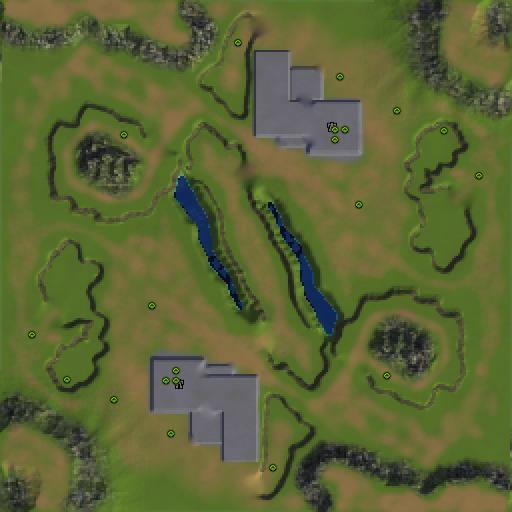 Карта fort centrum