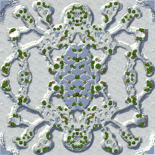 Карта frostpanker