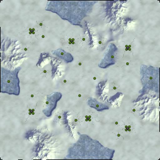 Карта ganymede