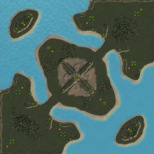Карта gap of satan