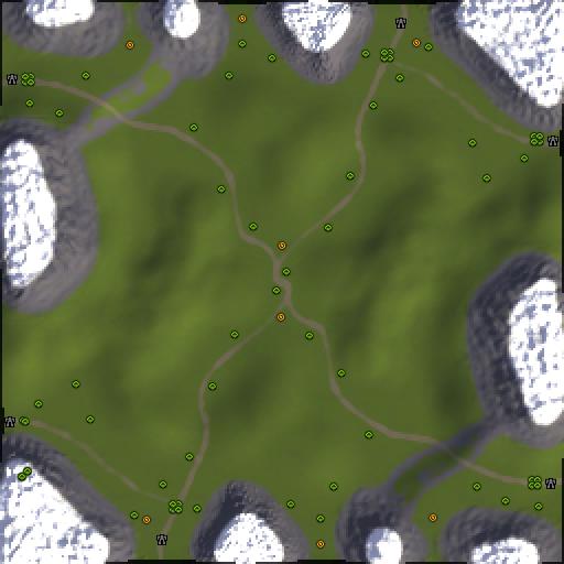 Карта green hills