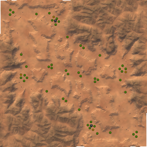 Карта havasu canyon