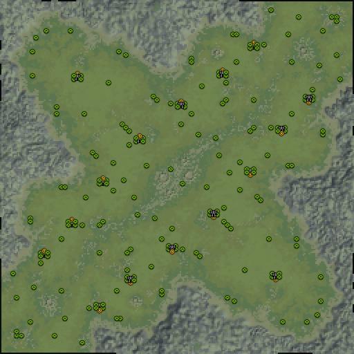 Карта huge wonder open