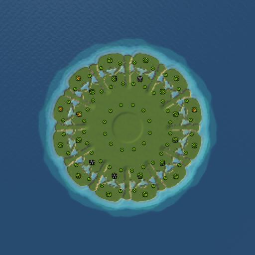 Карта island twelve