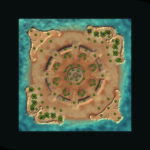 Карта king arthurs round table