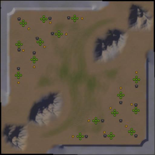 Карта kpoboctok