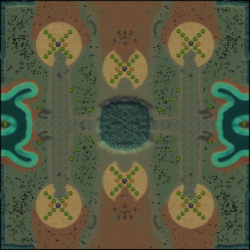 Карта kriegshummel 3v3