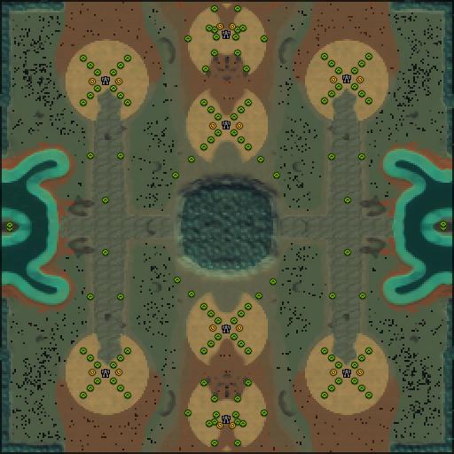 Карта kriegshummel alternative 4v4