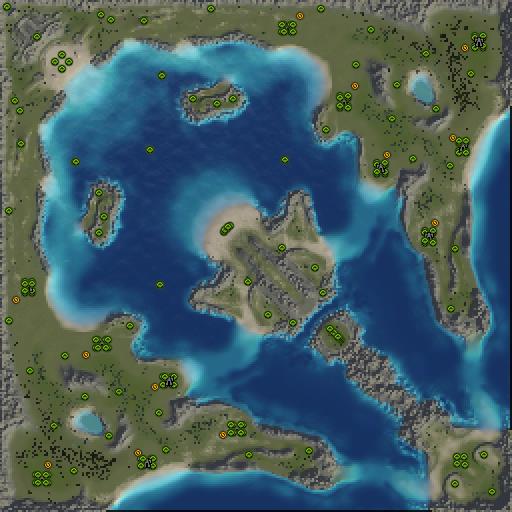 Карта madsea20x20