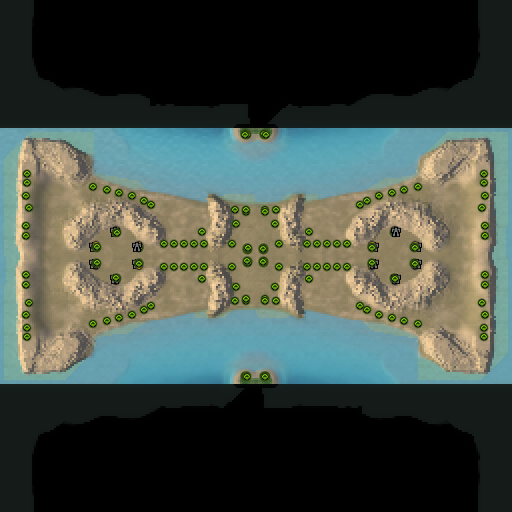 Карта many gaps