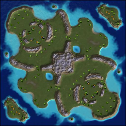 Карта many gaps 2