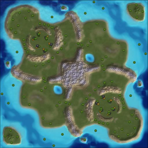 Карта many gaps 2 ai friendly