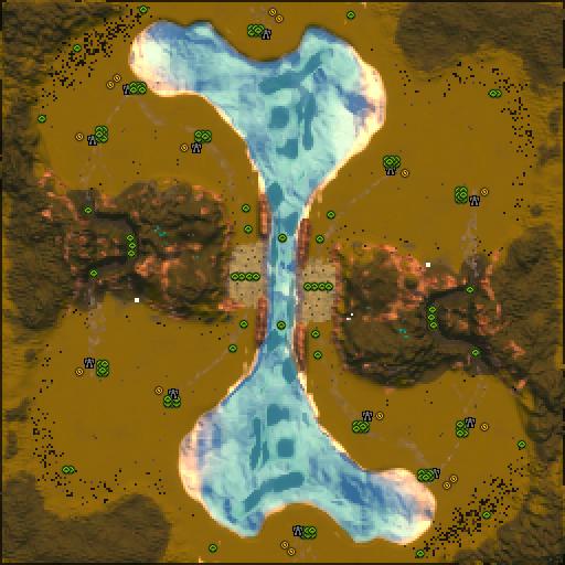 Карта mountain glacier