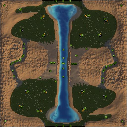 Карта mountain glacier v2