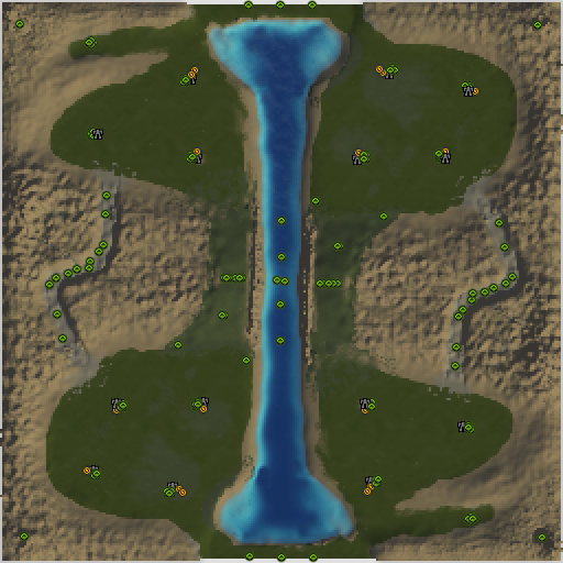 Карта mountain glacier v2b