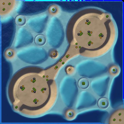 Карта navy crater