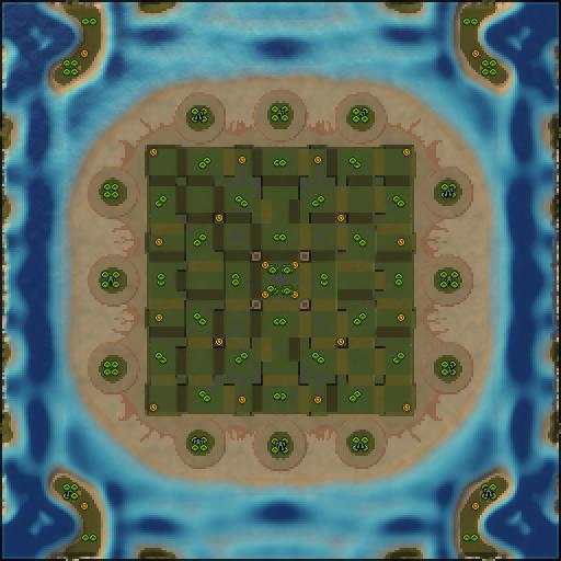 Карта necronopolis