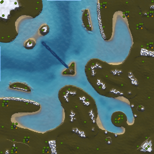 Карта new passchendaele