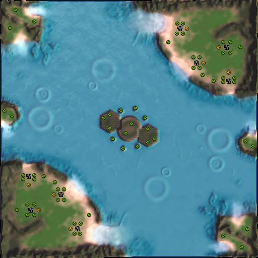 Карта nightsun