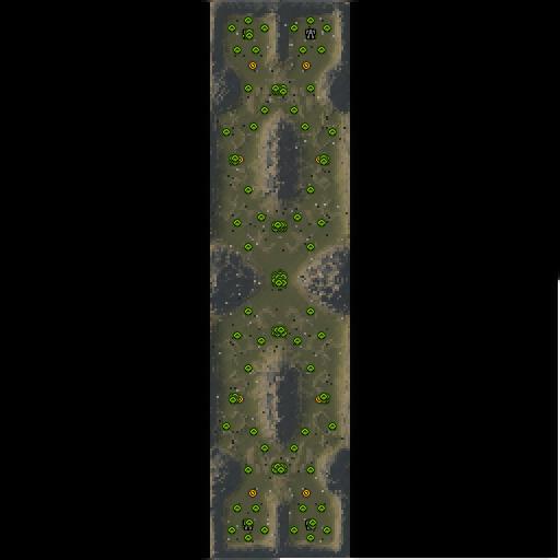 Карта pine pass