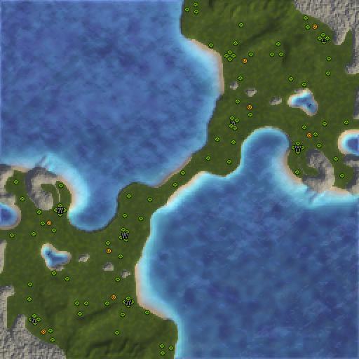 Карта satans pitchfork