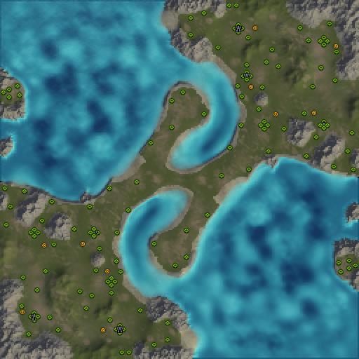 Карта serpents passage