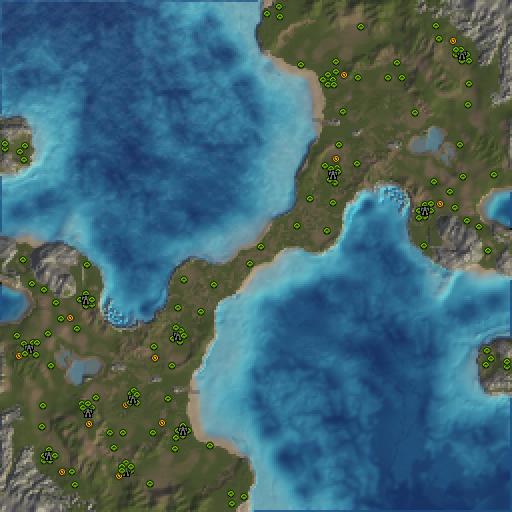 Карта setons carp
