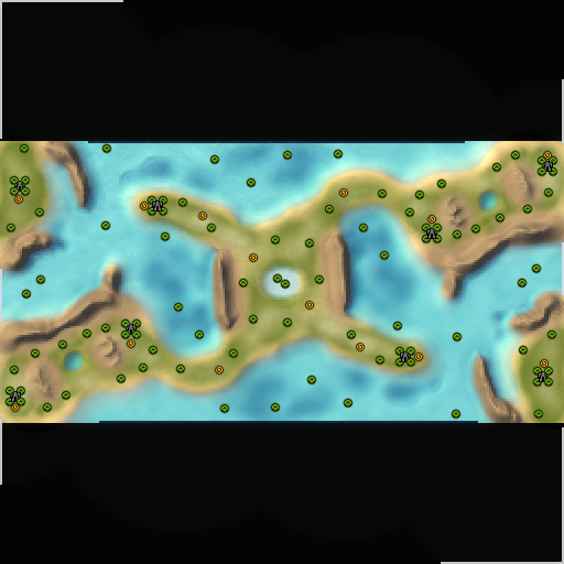 Карта shipwreck bay small