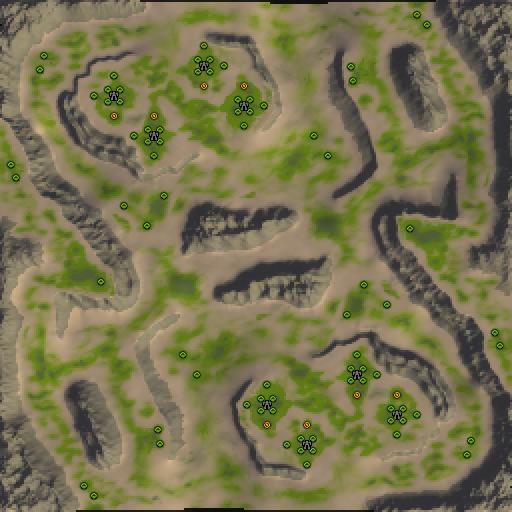 Карта shrike peak acres